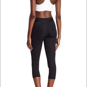 adidas Pants - adidas Alphaskin Leggings New Black Cropped Hem